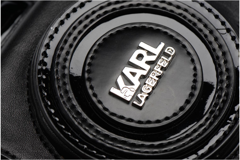 Sacs à main Karl Lagerfeld Camera Crossbody Noir vue gauche