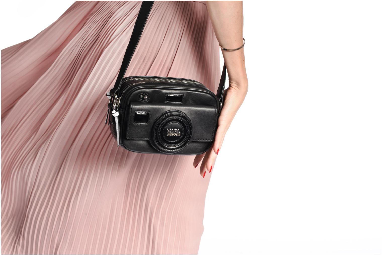 Sacs à main Karl Lagerfeld Camera Crossbody Noir vue haut