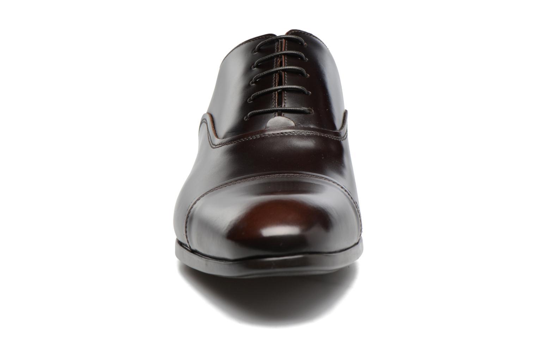 Chaussures à lacets Doucal's Oscar Marron vue portées chaussures