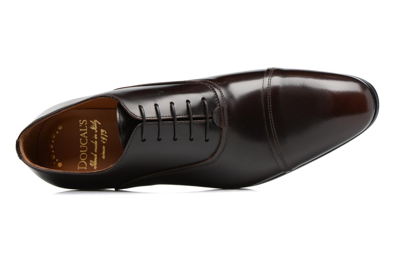 Chaussures à lacets Doucal's Oscar Marron vue gauche