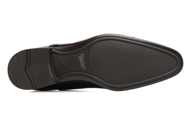 Chaussures à lacets Doucal's Oscar Marron vue haut