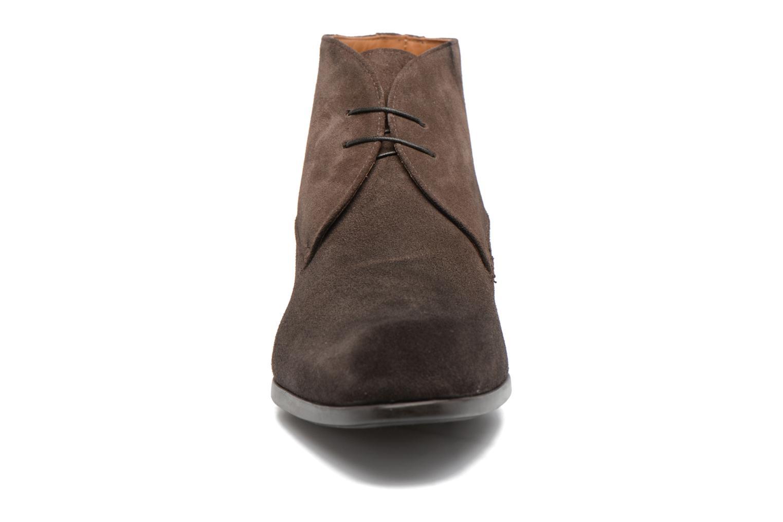 Chaussures à lacets Doucal's Orlando Marron vue portées chaussures