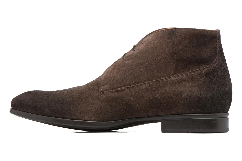Chaussures à lacets Doucal's Orlando Marron vue face