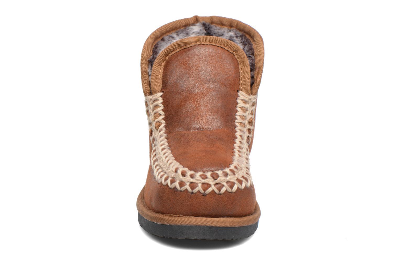 Boots en enkellaarsjes Fresas by Conguitos Elena Bruin model