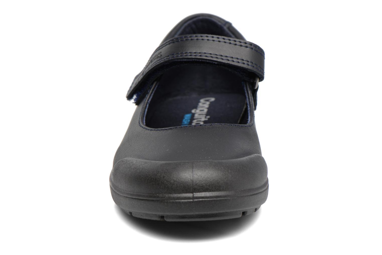 Ballerines Conguitos Lola Noir vue portées chaussures