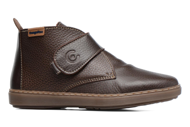 Chaussures à scratch Conguitos Juan Marron vue derrière