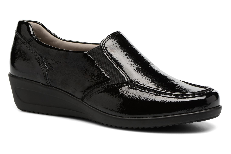 ARA Chaussures Mocassins Zurich noirs Réduction De Dégagement Rodkf8