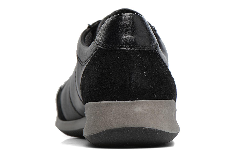Baskets Ara Rom 44485 Noir vue droite