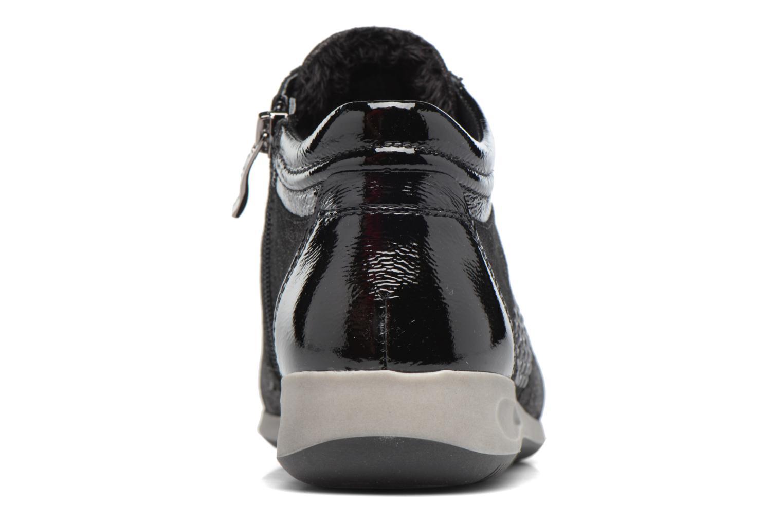 Baskets Ara Rom Stf 44487 Noir vue droite