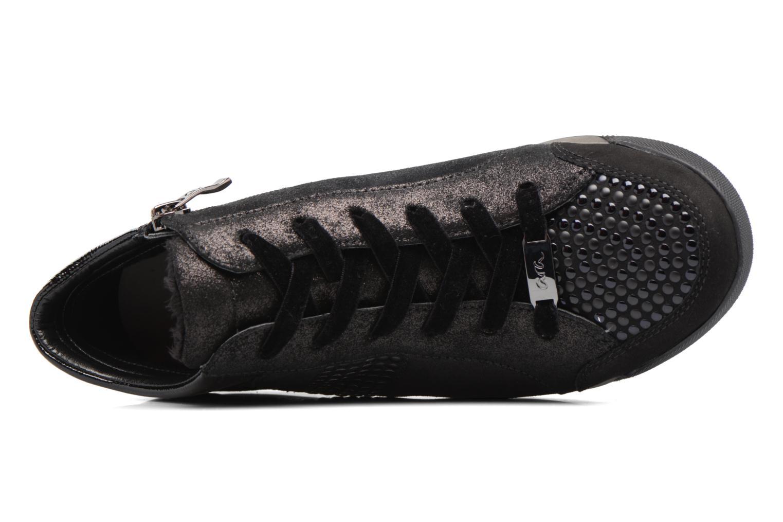 Baskets Ara Rom Stf 44487 Noir vue gauche