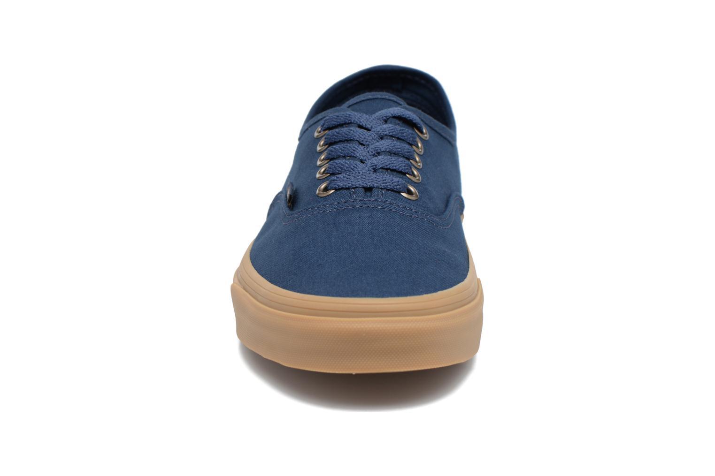 Baskets Vans Authentic Gum Bleu vue portées chaussures