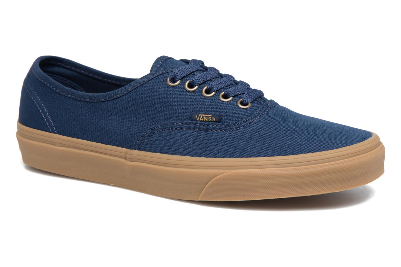 Baskets Vans Authentic Gum Bleu vue détail/paire