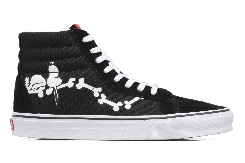 Baskets Vans Sk8-Hi Reissue x Peanuts Noir vue derrière