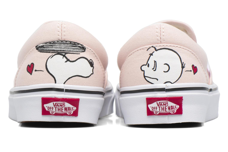 Classic Slip On W x Peanuts Smack/Pearl