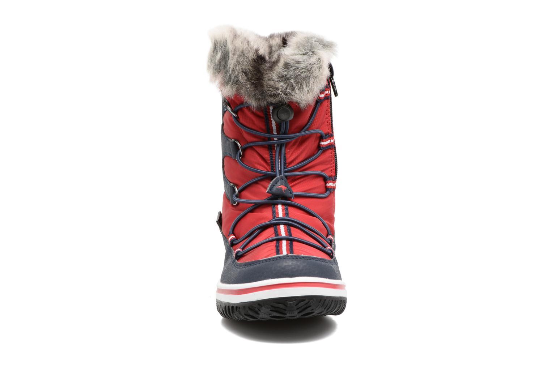Chaussures de sport Kangaroos Maple Rouge vue portées chaussures