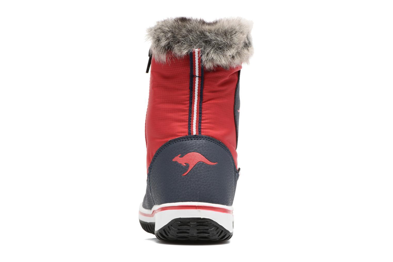 Chaussures de sport Kangaroos Maple Rouge vue droite