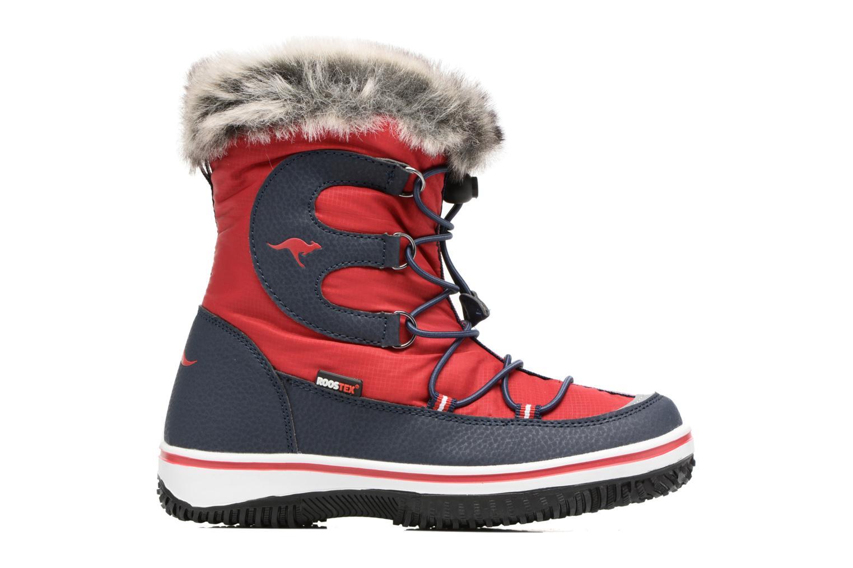Chaussures de sport Kangaroos Maple Rouge vue derrière
