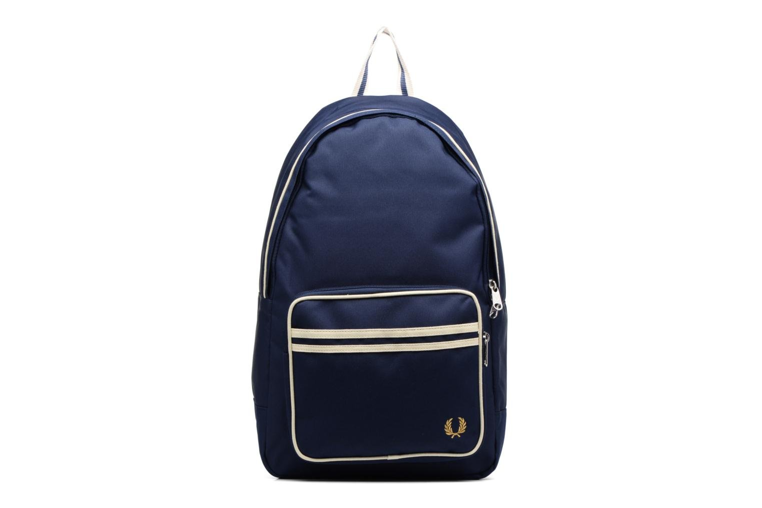 Sacs à dos Fred Perry Twin Tipped Backpack Bleu vue détail/paire