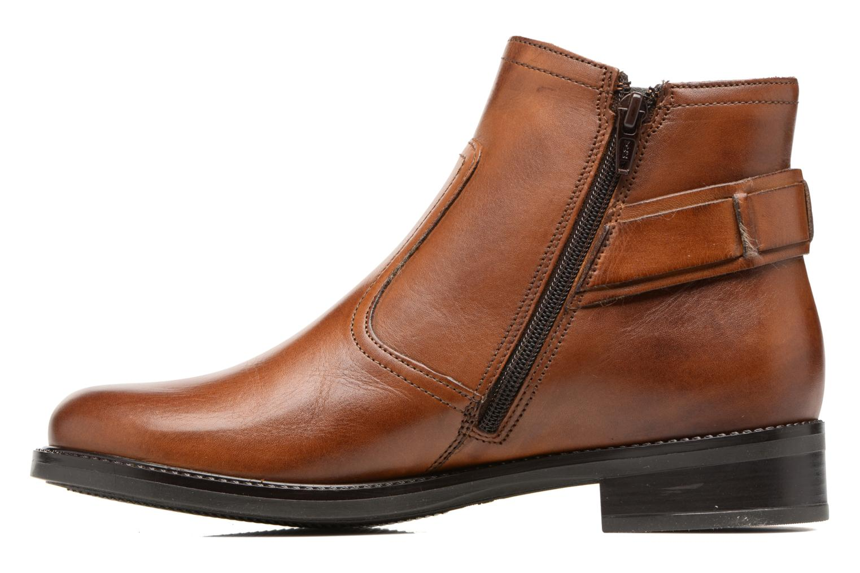 Bottines et boots Tamaris Artanis Marron vue face