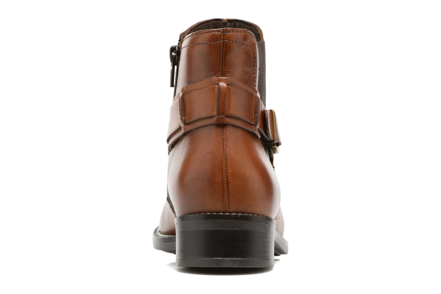 Ankle boots Tamaris Artanis Brown view from the right