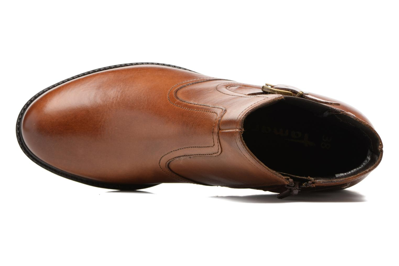 Bottines et boots Tamaris Artanis Marron vue gauche
