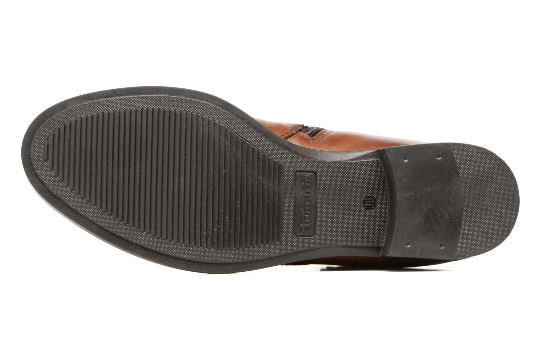 Bottines et boots Tamaris Artanis Marron vue haut