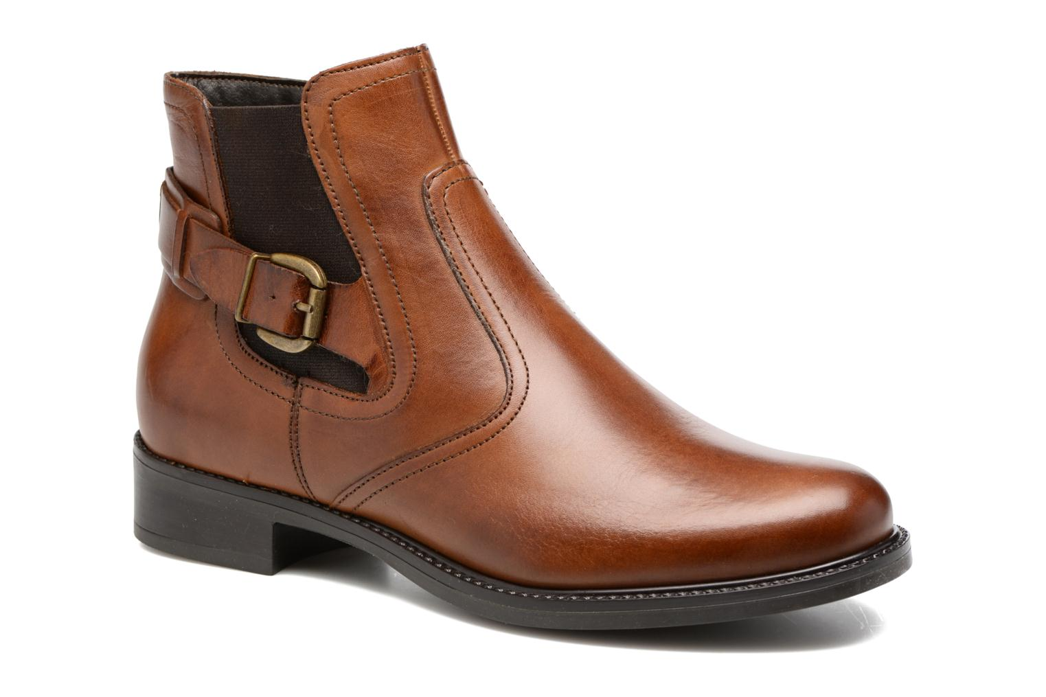 Ankle boots Tamaris Artanis Brown detailed view/ Pair view