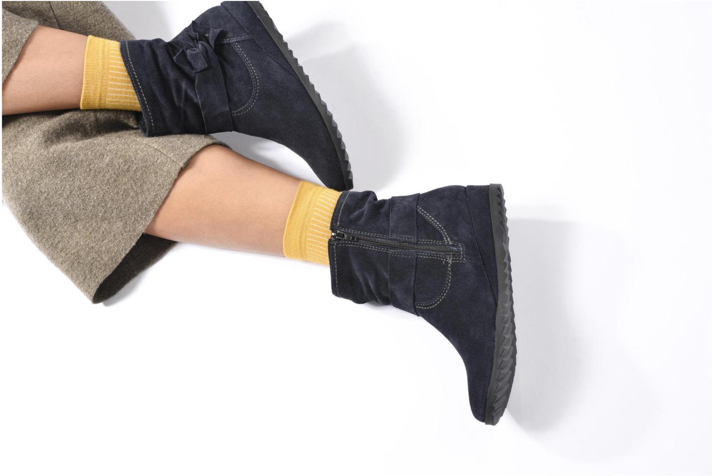 Bottines et boots Tamaris Ashana Noir vue bas / vue portée sac