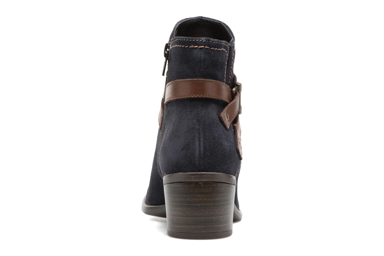 Bottines et boots Tamaris Athellen Bleu vue droite
