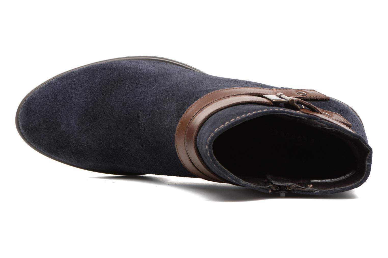 Bottines et boots Tamaris Athellen Bleu vue gauche