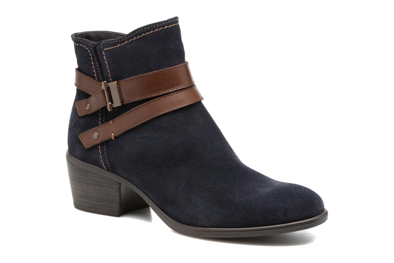 Bottines et boots Tamaris Athellen Bleu vue détail/paire