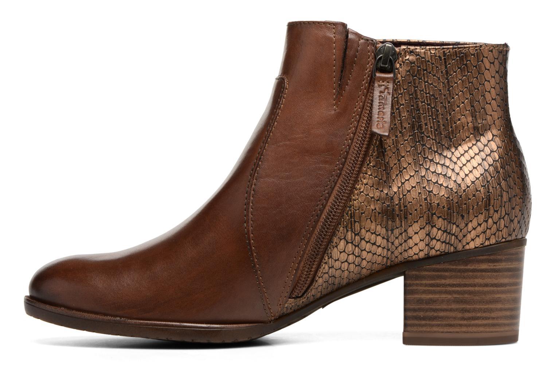 Bottines et boots Tamaris Gilgalad Marron vue face