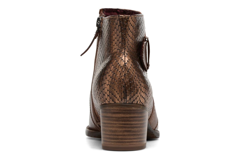 Bottines et boots Tamaris Gilgalad Marron vue droite