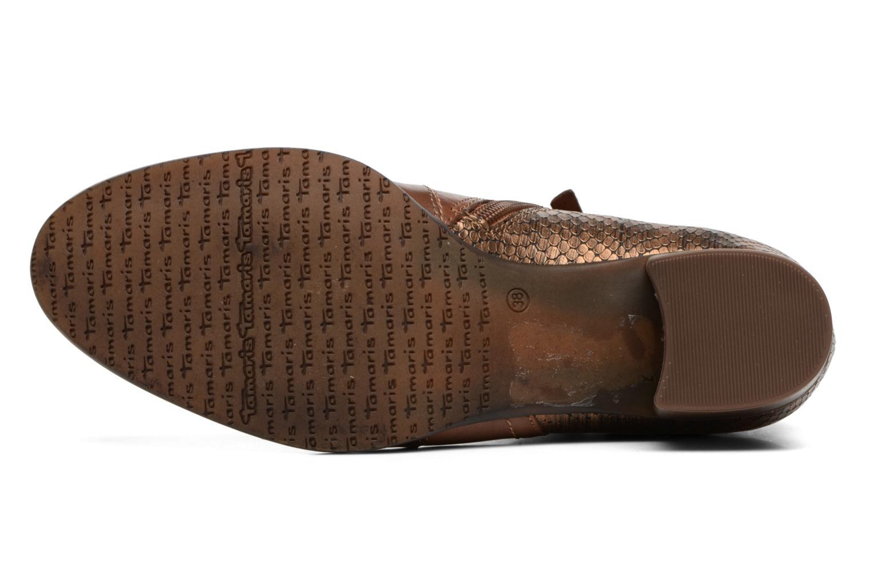 Bottines et boots Tamaris Gilgalad Marron vue haut