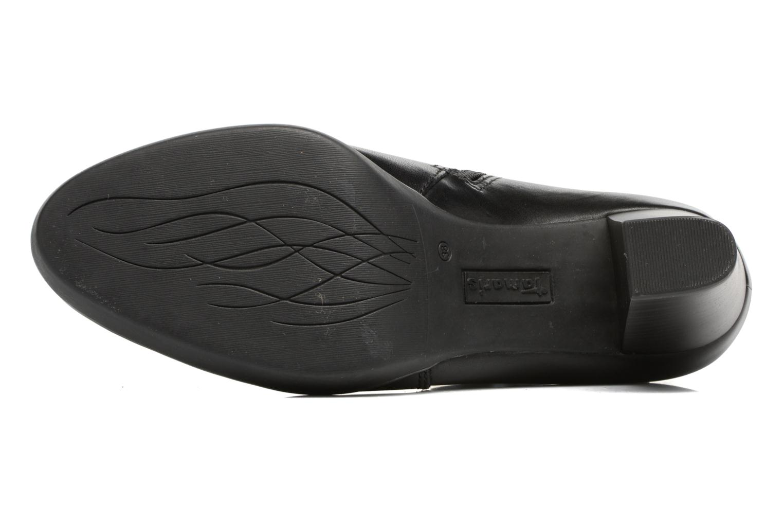 Bottines et boots Tamaris Heldaria Noir vue haut