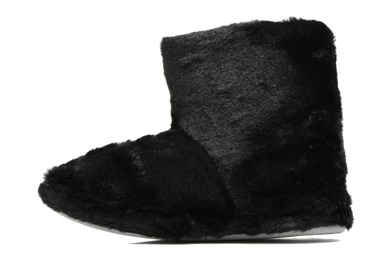 Pantuflas Sarenza Wear Chaussons Boots Femme Etoile Negro vista de frente