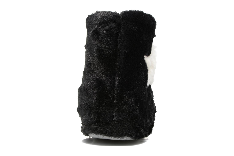 Pantuflas Sarenza Wear Chaussons Boots Femme Etoile Negro vista lateral derecha