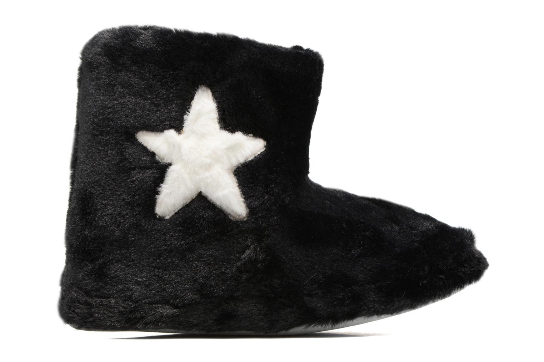 Pantuflas Sarenza Wear Chaussons Boots Femme Etoile Negro vistra trasera
