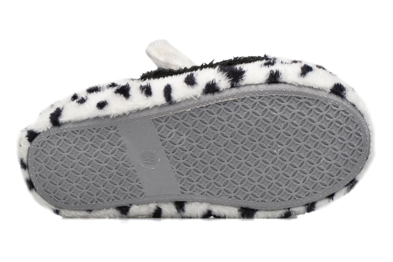 Chaussons Fille Animal blanc et noir