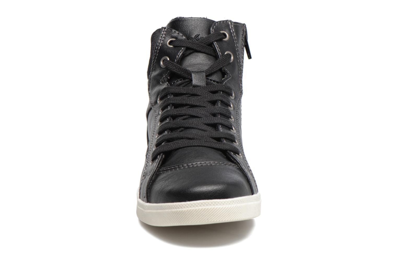 Baskets Dockers Janja Noir vue portées chaussures