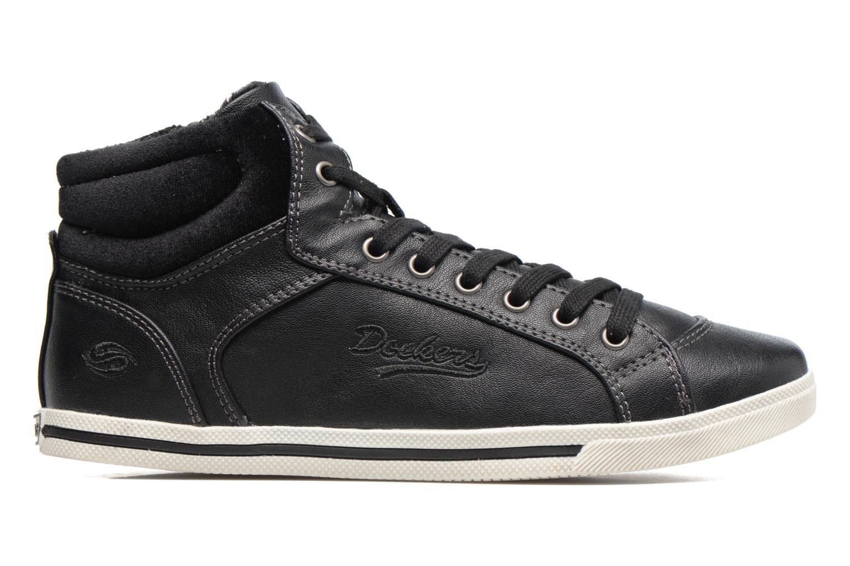 Sneakers Dockers Janja Zwart achterkant