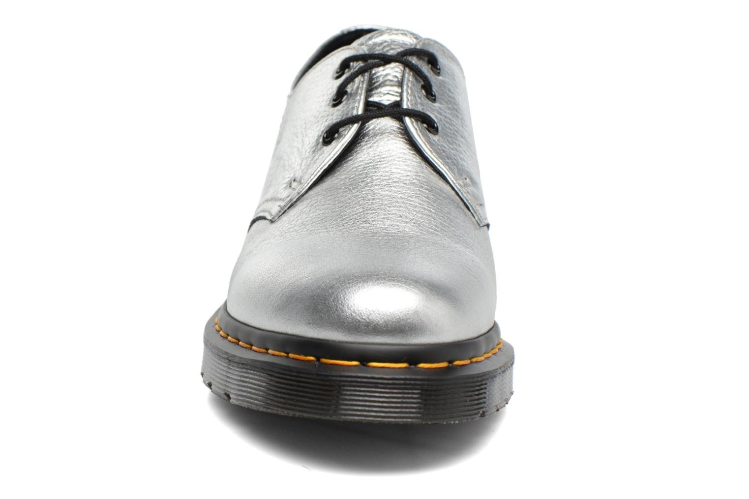 Lace-up shoes DR. Martens 1461 MET Silver model view