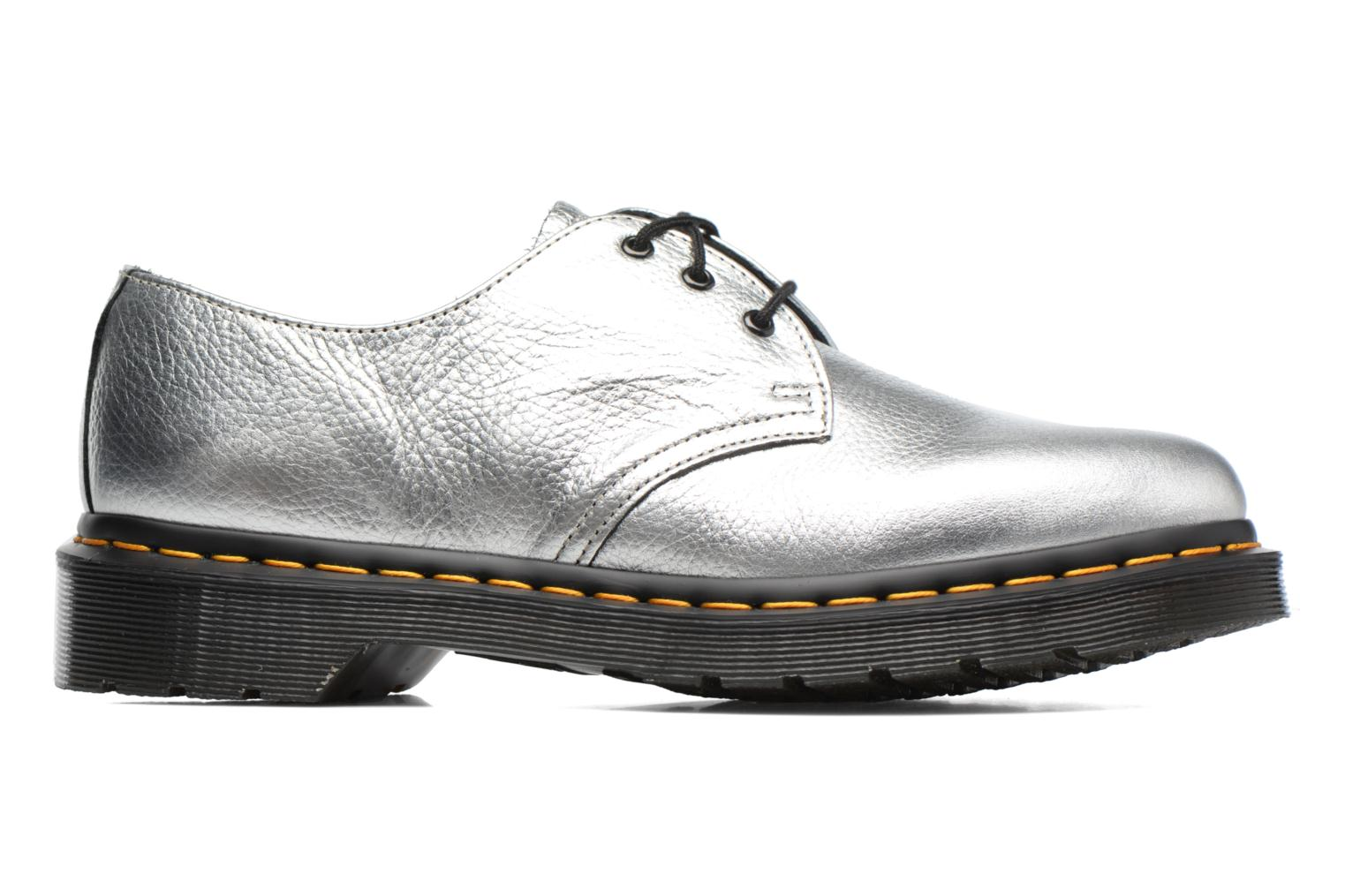 Lace-up shoes DR. Martens 1461 MET Silver back view