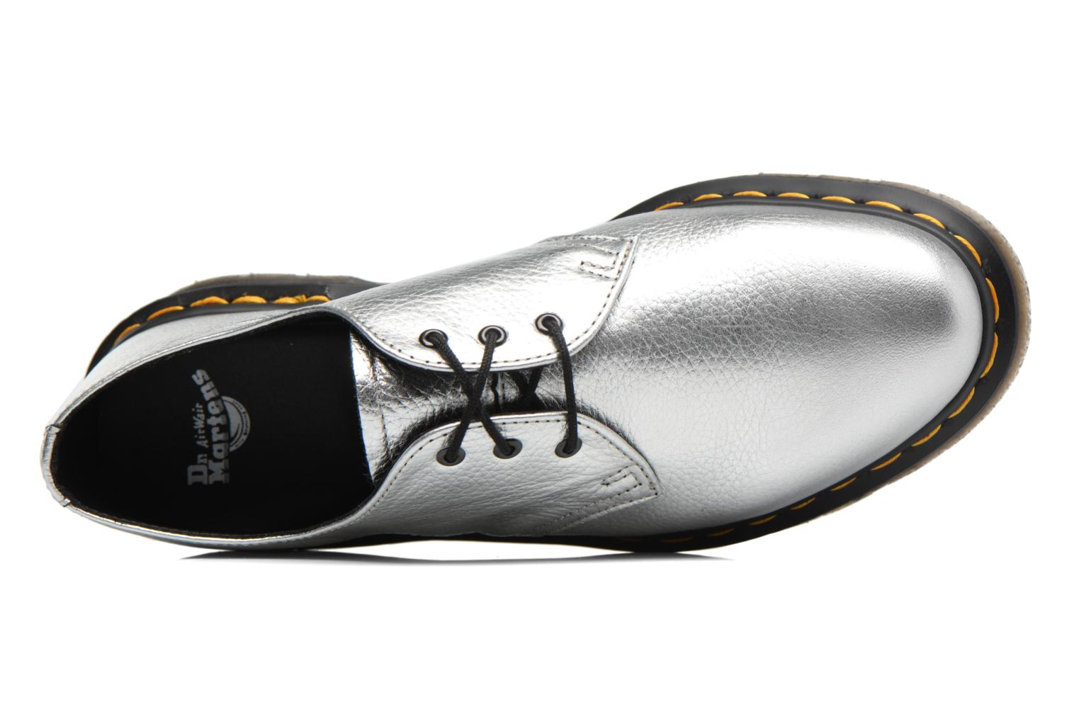 Lace-up shoes DR. Martens 1461 MET Silver view from the left