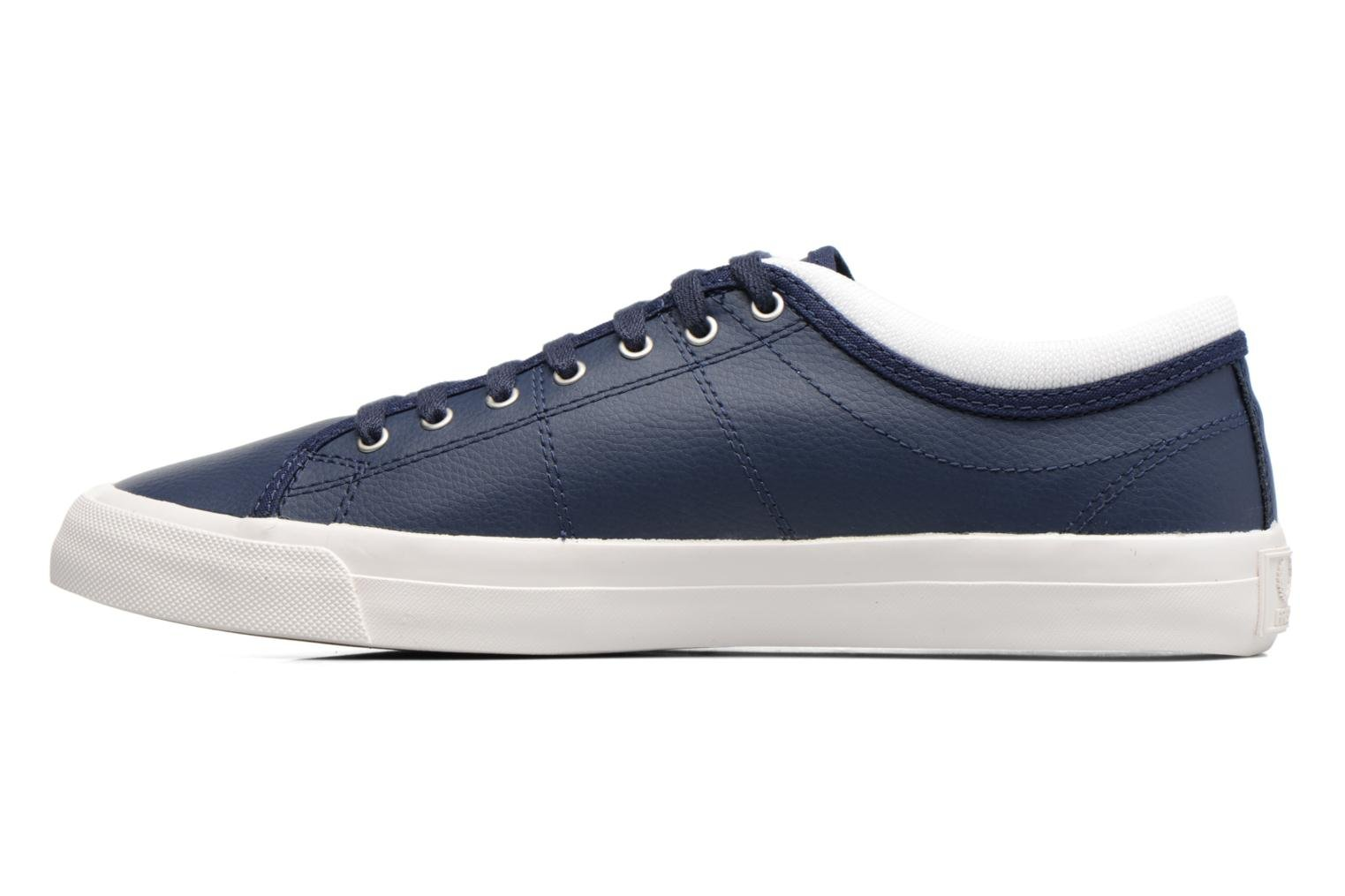Baskets Fred Perry Kendrick Reversed Tipped Cuff Leather Bleu vue face