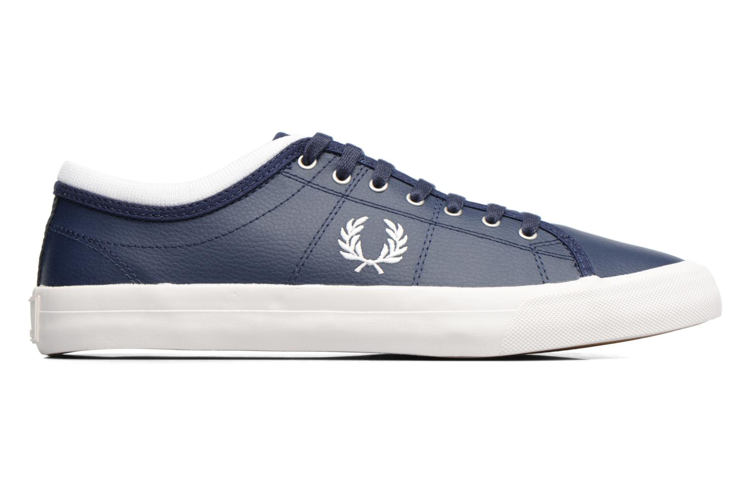 Baskets Fred Perry Kendrick Reversed Tipped Cuff Leather Bleu vue derrière