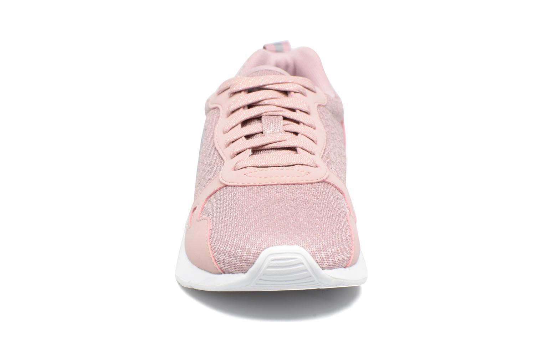 Baskets Le Coq Sportif LCS R600 Rose vue portées chaussures