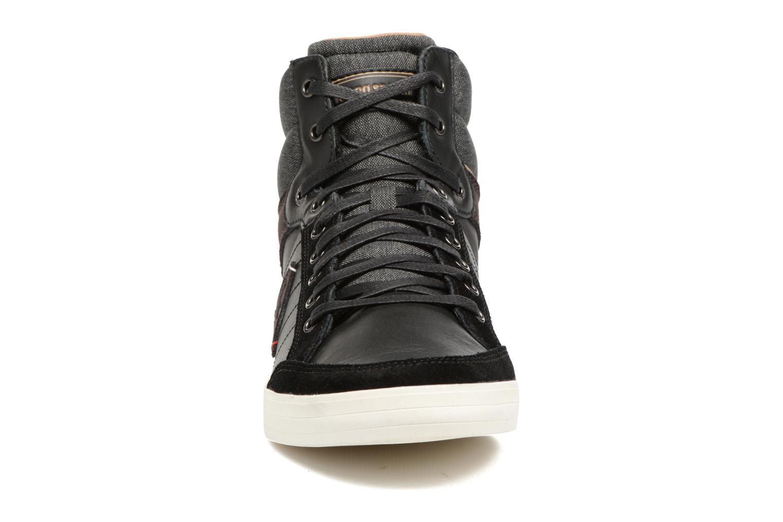 Baskets Le Coq Sportif Portalet Mid Craft Noir vue portées chaussures