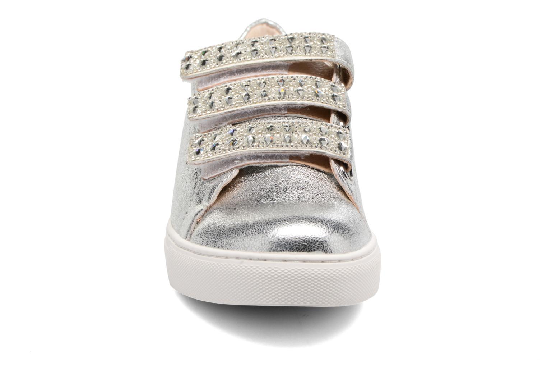 Baskets COSMOPARIS EJALI/MET Argent vue portées chaussures
