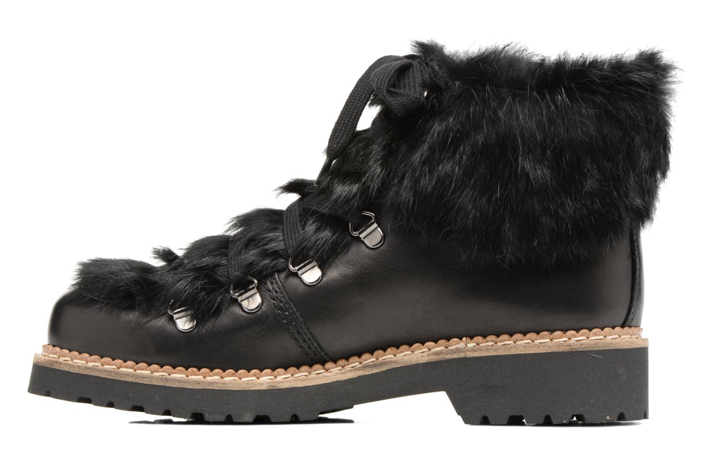 Bottines et boots COSMOPARIS ELIZA Noir vue face